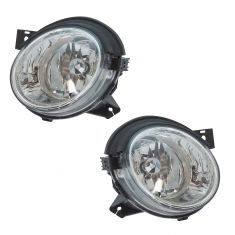 03-04 (11/3/03) Kia Magentis Optima Inner (High Beam) Headlight PAIR