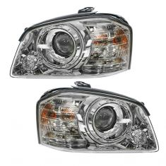 05-06 Kia Magentis Optima Outer (Low Beam) Headlight PAIR