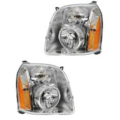 07-10 GMC Yukon Denali Headlight PAIR