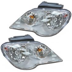 07-08 Chrysler Pacifica Halogen Headlight PAIR