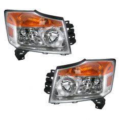 08-10 Nissan Armada Headlight PAIR
