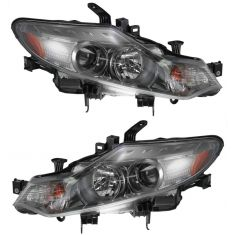 09-10 Nissan Murano Halogen Headlight PAIR