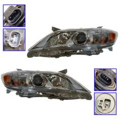 10-11 Toyota Camry (exc SE) (US Built) Headlight PAIR