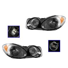 08-09 Buick Allure, Lacrosse Headlight PAIR