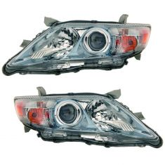 10-11 Toyota Camry Hybrid (US Built) Headlight PAIR