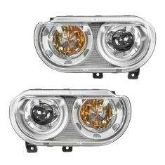 08-11 Dodge Challenger HID Headlight (w/o Bulbs & Ballast) PAIR