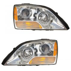 08-09 Kia Sorento Headlight PAIR