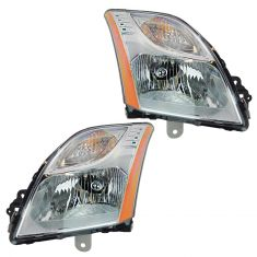 10-11 Nissan Sentra w/2.0L (exc SR Model) Headlight PAIR