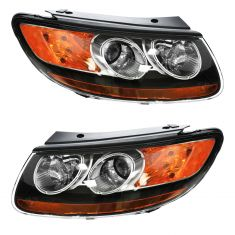07 (from 7/12/07)-09 Hyundai Sante Fe Headlight PAIR