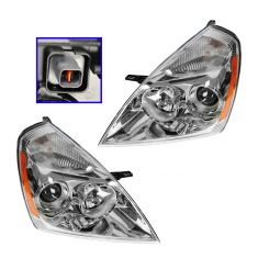08 (from 6/3/08) Kia Sedona; 09-12 Sedona Headlight PAIR