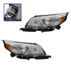 13-14 Chevy Malibu LT, LTZ Halogen Headlight PAIR