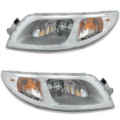 01-12 International 4100/4200/4300/4400; 02-12 8000 SERIES(8500/8600) Headlight PAIR