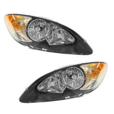 09-12 International ProStar Headlight Assembly PAIR