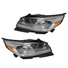 13-15 Chevy Malibu (LS, ECO Model) Halogen Headlight Pair