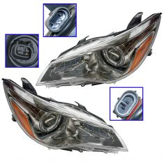 15-16 Toyota Camry (w/o Black Trim) Halogen Headlight Pair
