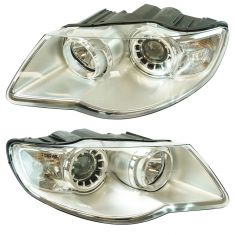 07 (from 12/06)-10 Volkswagon Touareg Halogen Headlight PAIR