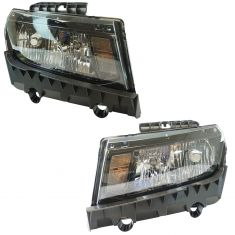 14-15 Chevy Camaro Halogen Headlight PAIR