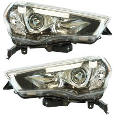 14-17 Toyota 4Runner Headlight LH RH Pair