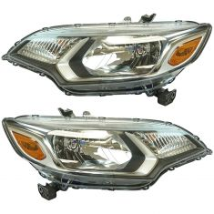 15-16 Honda Fit Headlight LH RH Pair