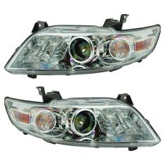 03-08 Infiniti FX35, FX45 Xenon HID Headlight (w/Clear Lens) (w/o Bulbs & Ballast) Pair