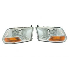 09-12 Ram Truck (exc Quad Lights) Headlight Pair (simple performance)