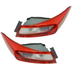 13-15 Honda Accord Coupe Tail Light Pair