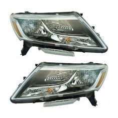 13-16 Nissan Pathfinder Headlight Pair