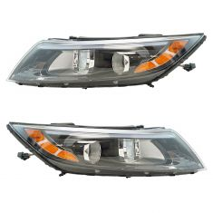 14-15 Kia Optima (USA Built) Halogen Head Light (w/o LED) Pair