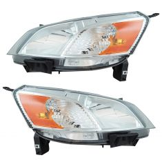 14-17 Nissan NV200 Headlight Assembly PAIR