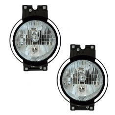07-11 Freightliner Century Headlight Assembly PAIR