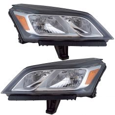 13-17 Chevy Traverse Headlight PAIR
