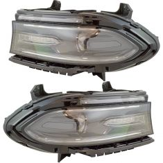 15-17 Dodge Charger Halogen Headlight Pair