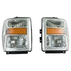 08-10 Ford F250 F350 Super Duty Headlight Pair (simple performance)