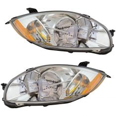 07-12 Mitsubishi Eclipse Halogen Headlight Pair