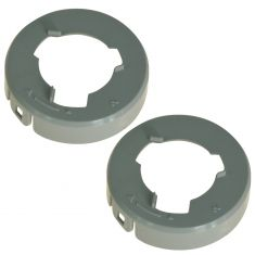 04-08 Nissan Maxima Halogen Headlight Bulb Retainer Ring/Holder Pair (Nissan)