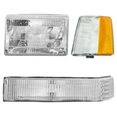 93-96 Jeep Grand Cherokee Light Set LH