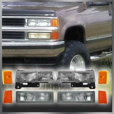 90-93 Chevy Truck and SUV Headlight, Turn Signal & Parking Light Kit