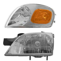 97-05 Venture Comp HL & Fdr Mtd Park Light LH