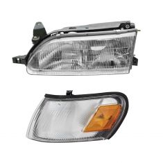 93-97 Corolla HL Assy & Fdr Mtd Park Light Set LH