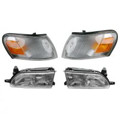 Headlight & Parking Light Set of 4
