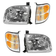 2001-04 Toyota Sequoia; 04 Tundra Double Cab Headlight/Parking Light Kit