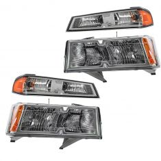 05-08 Chevy Colorado Xtreme Headlight/Parking Light Kit