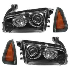 08-10 Dodge Charger HID Headlight & Corner Light Kit (Set of 4)