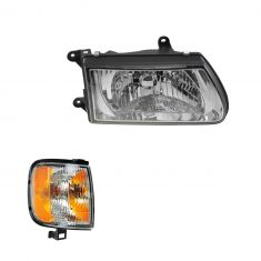 00-02 Isuzu Rodeo Headlight & Park Corner light Kit RH