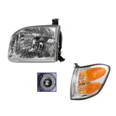 01-04 Sequoia Headlight & Corner Light LH