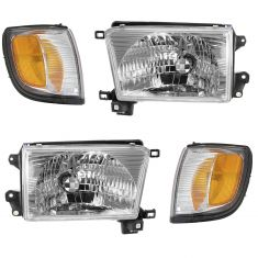99-02 4 Runner Headlight & Corner Light Kit