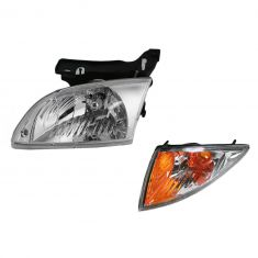 00-02 Chevy Cavalier Headlight & Turn Signal Kit LH
