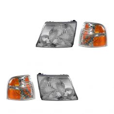2002-05 Ford Explorer 4 door Headlight & Corner Light Kit