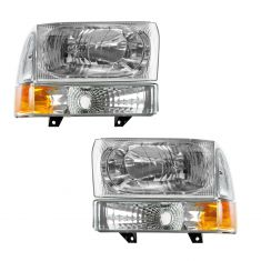 00-04 Ford Excursion; 99-04 F250, F350; 99-03 F450, F550 Performance Headlight & Parking Light Kit