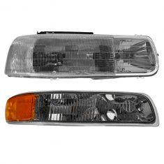 99-06 Chevy Silverado; Tahoe; Suburban Passenger Side RH Headlight & Parking Light Kit